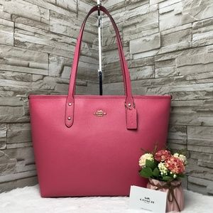 👜COACH🌺CITY ZIP TOTE